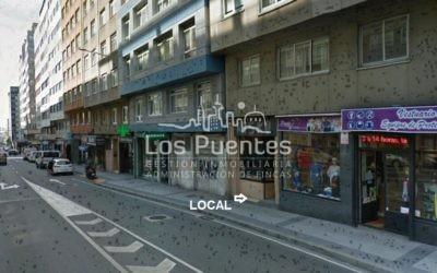Local comercial Ronda de Nelle – próximo Avenida Finisterre