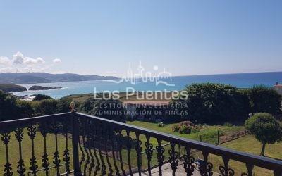 Casa con preciosas vistas panorámicas al mar en Arteixo