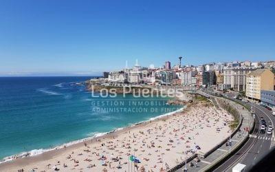 Piso – dúplex en alquiler TEMPORADA con terraza y vistas al mar